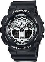 Мужские часы CASIO G SHOCK GA-100BW-1AER