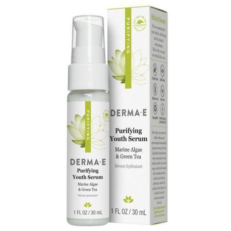 Очищающая омолаживающая сыворотка Derma E