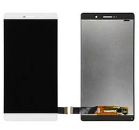 Дисплей Huawei P8 Max хуавей (DAV-703L) с тачскрином в сборе, цвет белый
