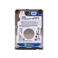 """Накопитель WD HDD 2.5"""" SATA 500GB Blue 5400rpm 16MB (WD5000LPCX)"""