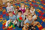 Теплый пол в детском саду