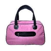 Женская сумка для спорта, 26*46*18 см, розовая