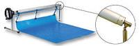 Сматывающее устройство для накрытия бассейна. 3,7-5,4 м,На стойке и фланце с вращающимся шарниром., фото 1