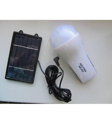 Лампа на солнечной батарее GD-652