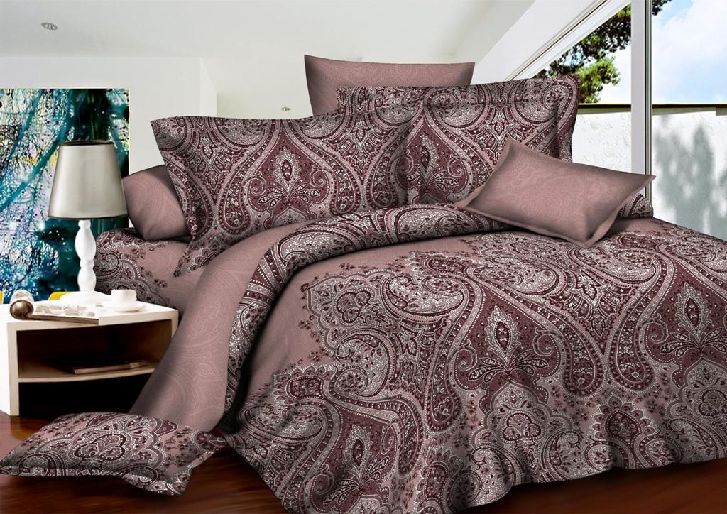 Двуспальный комплект постельного белья из ранфорса Французский Шик