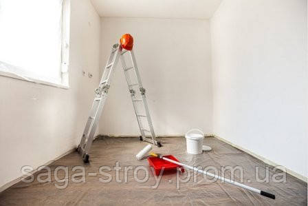 Покраска  стен и потолка, шаг за шагом
