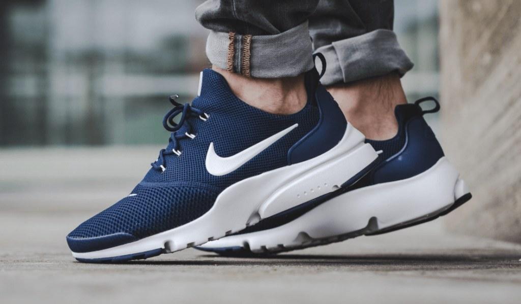 Nike Air Presto Fly Blue. Стильные мужские кроссовки. Лучший выбор мужских кроссовок.