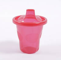 Поїлка-чашка 210 мл (1шт) червона