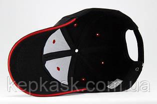 Бейсболка коттон Black Adidas-5, фото 3