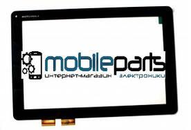 Оригинальный Сенсор (Тачскрин) к планшету Motorola MZ616 XOOM2 (Черный)