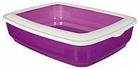 Туалет Trixie Cisco Litter Tray для кошек с рамкой, пластик, 38х11х50 см
