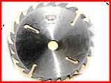 Пильный диск. с подрезными ножами. 500х50х18+6. Пильный диск по дереву. Циркулярка. Дисковая пила.Диск пильный, фото 5