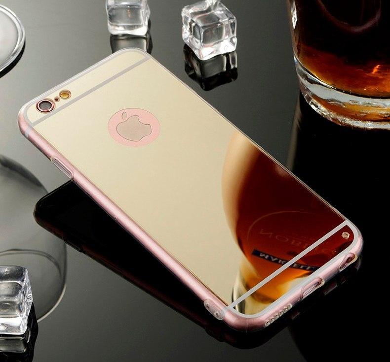 Дзеркальний чохол накладка для Iphone 6, 6s, 7