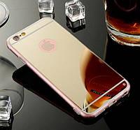 Зеркальный чехол накладка для Iphone 6, 6s, 7