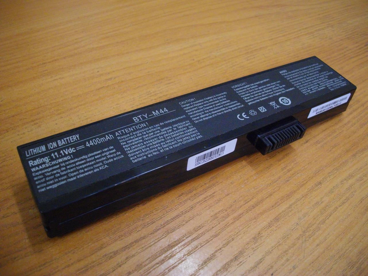 АКБ Батарея Аккумулятор BTY-M44 MSI VR420X MS-1422