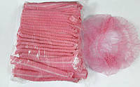 Шапочка «Одуванчик» розовая