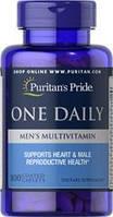 Витамины для мужчин, Puritan's Pride One Daily Men's 100 Caplets
