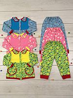 Пижама для девочки Милона Размер 86 - 122 см