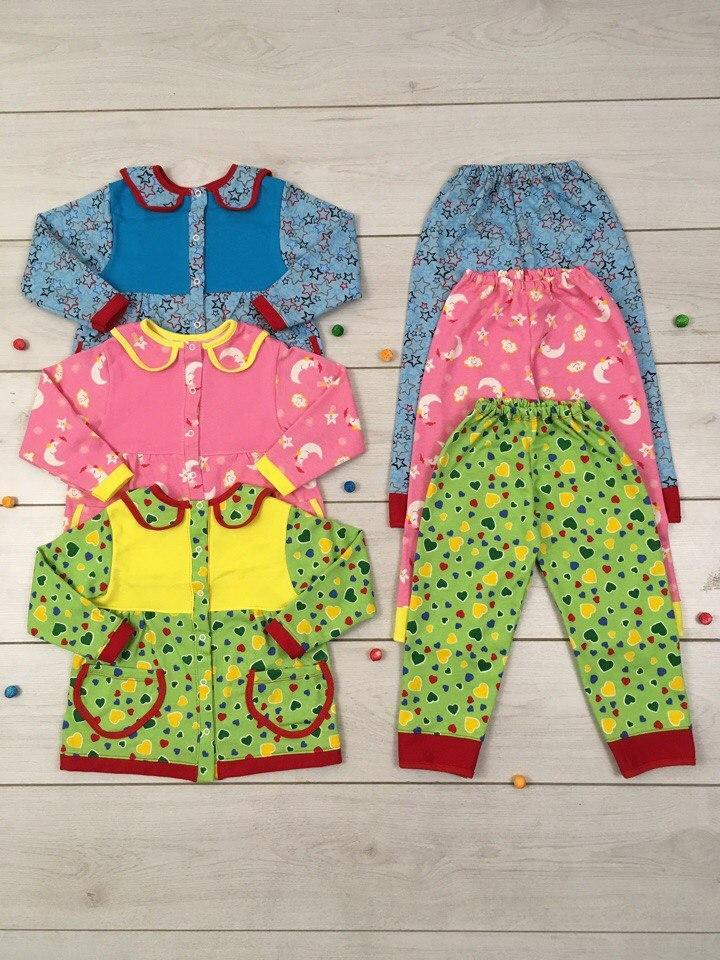 Пижама для девочки Милона Размер 86 - 122 см - CARAMEL любимый магазин в Харькове