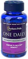 Витамины для женщин Puritan's Pride Women's One Daily Multivitamins 100 Caplets