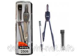 Циркуль AO.S.DU c механическим карандашом и грифелями