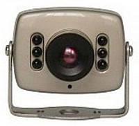 Камера видеонаблюдения черно белая
