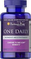 Витамины для женщин  Puritan's Pride Women's One Daily Multivitamins 200 Caplets