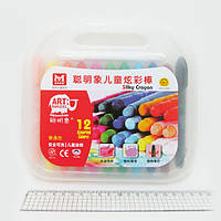 "Гелевый мел ""Silky crayon"" 12цв."