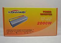 Преобразователь напряжения Konnwei 2000W 24DC