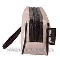 Косметичка розовая с ручкой HILTON 2093 SB
