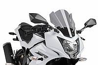 """Ветровое стекло Puig Z-Racing EX250SL Ninja SL """"15-16 дымчатая тонировка"""