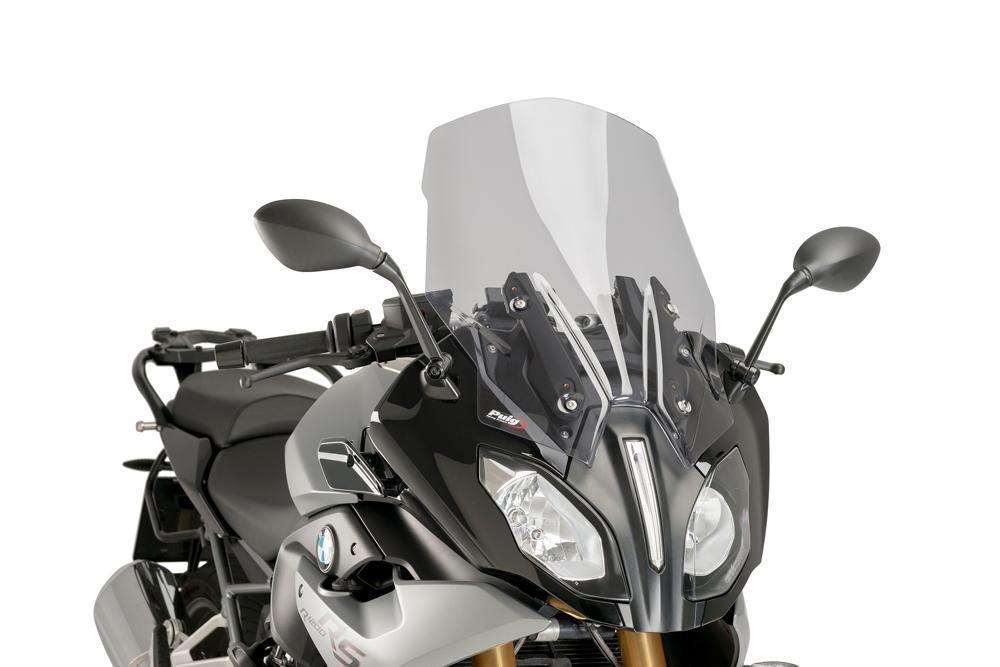 """Ветровое стекло Puig Touring R 1200 RS """"15-16 дымчатая тонировка"""