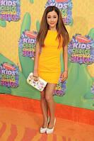 Платье желтое короткое летнее