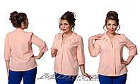 Женская Блуза №364 больших размеров