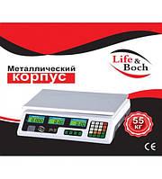 Весы торговые электронные LIFE & BOCH до 55 кг