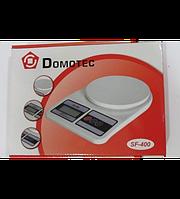 Кухонные электронные весы Domotec SF-400