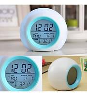 Светодиодные часы будильник Wecker