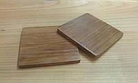 Костеры из дерева, квадратные (7 мм)