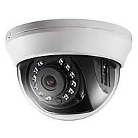 Turbo HD видеокамера. 1.0 Мп, DS-2CE56C0T-IRMM (2.8)