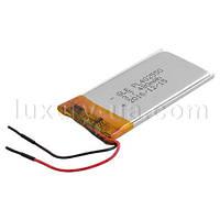 Аккумулятор литий-полимерный 402550, Li-polymer,  3,7V 480mAh (4*25*50мм)
