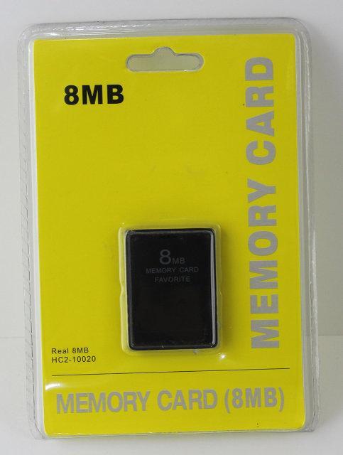 Карта памяти для Sony PS2 8mb