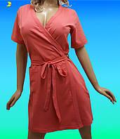 Купить халат женский хлопковый, размер от 44 до 54, Украина