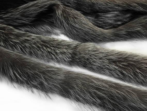 Опушка чернобурка 60 см., фото 2