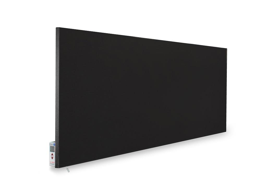 Керамічний обігрівач TEPLOCERAMIC ТСМ-RA 1000 чорний, (керамічний обігрівач)