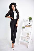 Женский пиджак черного цвета