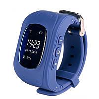 Детские умные часы с GPS трекером Q50 SMART BABY темно-синий