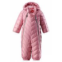 Зимний пуховый комбинезон для девочки Reima 510273 - 4320. Размеры 62- 86