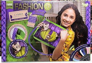 Набор для творчества Вышивка сумки (котенок) в стиле мулине Fashion Bag
