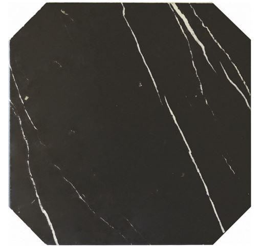 Плитка Equipe Octagon Marmol Negro 20х20