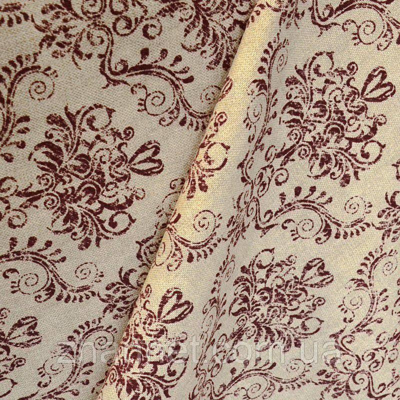 Ткань для штор Tanit бордо
